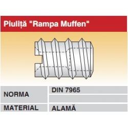 Piulita Rampa Muffen alama DIN7965