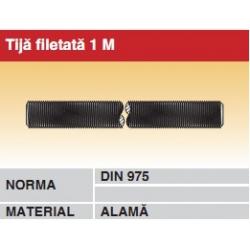 Tija filetata 1M alama DIN975