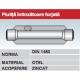 Piulita intinzatoare forjata otel zincat DIN1480