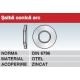 Saiba conica arc otel zincat DIN6796