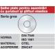 Saibe plate pentru asamblari cu suruburi si stifturi elastice DIN7349 ISO1661