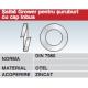 Saiba Grower pentru suruburi cu cap Inbus DIN7980