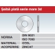 Saiba plata serie mare 3d DIN9021