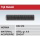 Tija filetata otel gr 4.6 zincat DIN976